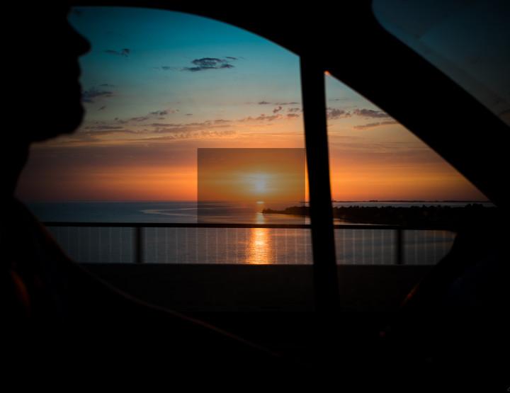 Surprise sunset