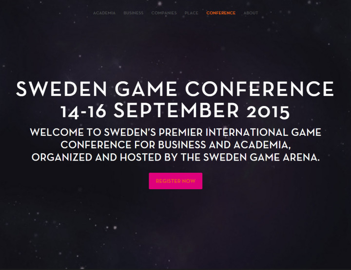 1 year at S.G. Arena and the Sweden Game Conference