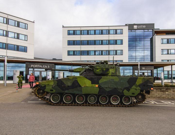 Tanks in Skövde